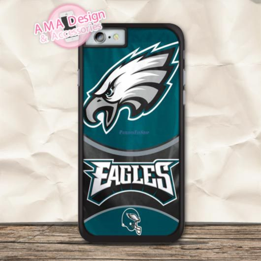 reputable site 96ac9 d50be US $2.99 |NFL National Football Philadelphia Eagles Case For iPhone 7 6 6s  Plus 5 5s SE 5c 4 4s For iPod Touch 5 4 on Aliexpress.com | Alibaba Group