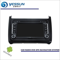 YESSUN Car Android Navigation System For Volkswagen VW Polo 2009~2017 Radio Stereo CD DVD Player GPS Navi HD Screen Multimedia