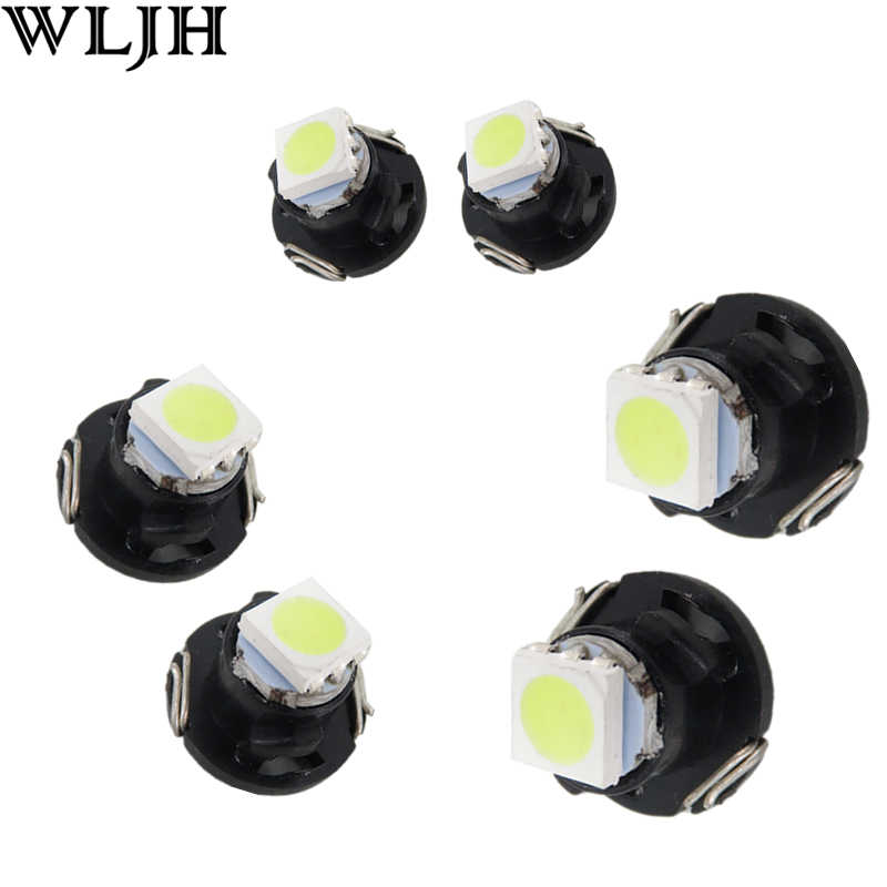 WLJH 10x Neo Wedge T3 T4.2 T4.7 Led Switch Radio Climate Control Bulb Gauge Speedo Dashboard Indicator Light Ac Panel Instrument