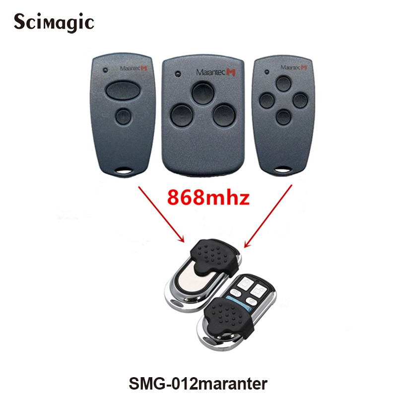 868Mhz Electric Garage Door Remote Control For Marantec D302/304/313/312 Clone