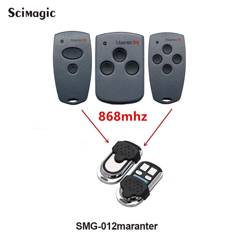 868Mhz Electric Garage Door Remote Control For Marantec D302/304/313/312 Clone