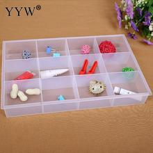 1pcs 12 Grids bulk Container Storage Box Jewelry Beads Screws Organizer Display Makeup Box Container Case