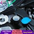 1 Peça ABS Nylon de Vidro Frasco de Spray de Água Para Limpar o Funil de adesivos para BMW X1 F48 2015 2016 Carro acessórios