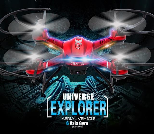 Новый Quadcopter Drone JJRC H12C DFD F181 FPV 4CH 2.4 ГГц дроны Дистанционного Управления Вертолетом С Камерой HD Одним Из Ключевых Авто вернуться