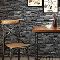 0.53*10Meters Aged Vintage Antique Brick Bricks Wallpaper Rolls Wall Paper Wall Mural(Not Self-adhesive)