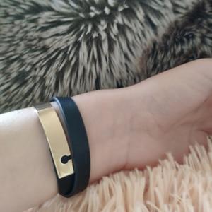 Image 5 - Office/Career Black Leather Double Layer Bracelets For Women 2017 New Charm Bracelet Bileklik Pulseira Feminina 37 40CM