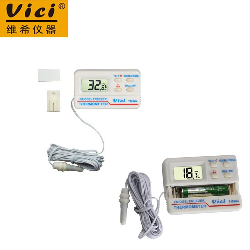 VICI TM804 Large LCD display Fridge Refrigerator Freezer Digital Alarm Temperature Thermometer Meter -50~70 Centigrade шины 185 65 r13