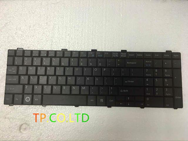 Marca Nuevo teclado QWERTY portátil Para FUJITSU AH530 AH531 NH751 AH530 Negro EE.UU. Teclado
