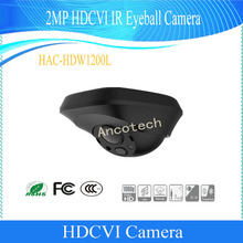 Free Shipping Original English DAHUA Security Camera CCTV 2MP HDCVI IR Eyeball Digital Video Camera without Logo HAC-HDW1200L