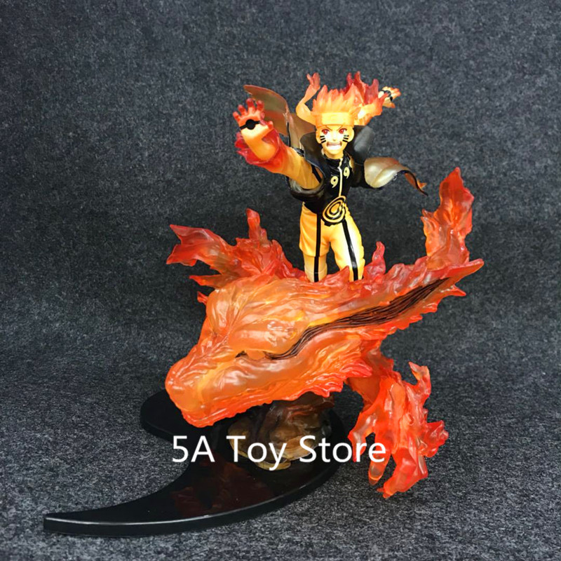 Anime Naruto Shippuden Ootutuki Hagoromo Uzumaki Naruto & Kurama Kyuubi PVC Action Figure Collectible Model ToyAnime Naruto Shippuden Ootutuki Hagoromo Uzumaki Naruto & Kurama Kyuubi PVC Action Figure Collectible Model Toy