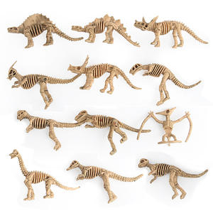 Toy-Collection Skeleton World-Dinosaur-Model Jurassic Simulation-Realistic 1pcs Digital