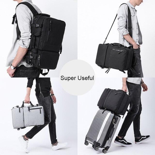 MAGIC UNION Multifunctional Backpack For Men 17.3 inch Laptop Bag Large Travel Bagpack 3 in1 Mochila Hombre Shoulder Bag 2