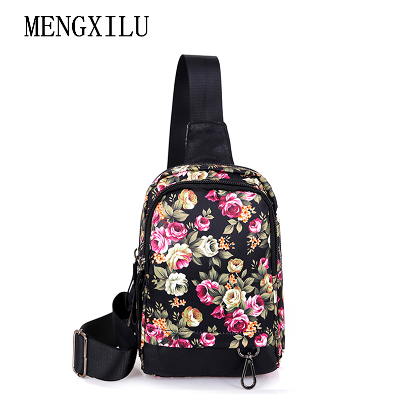 Crossbody Waterproof Bag Women Single Shoulder Bags 2017 New Famous Brand High Quality Casual Nylon Chest Bag Messenger Bags 2016 autumn and winter new casual waterproof nylon shell bag soft bag portable women shouid bags dd5023