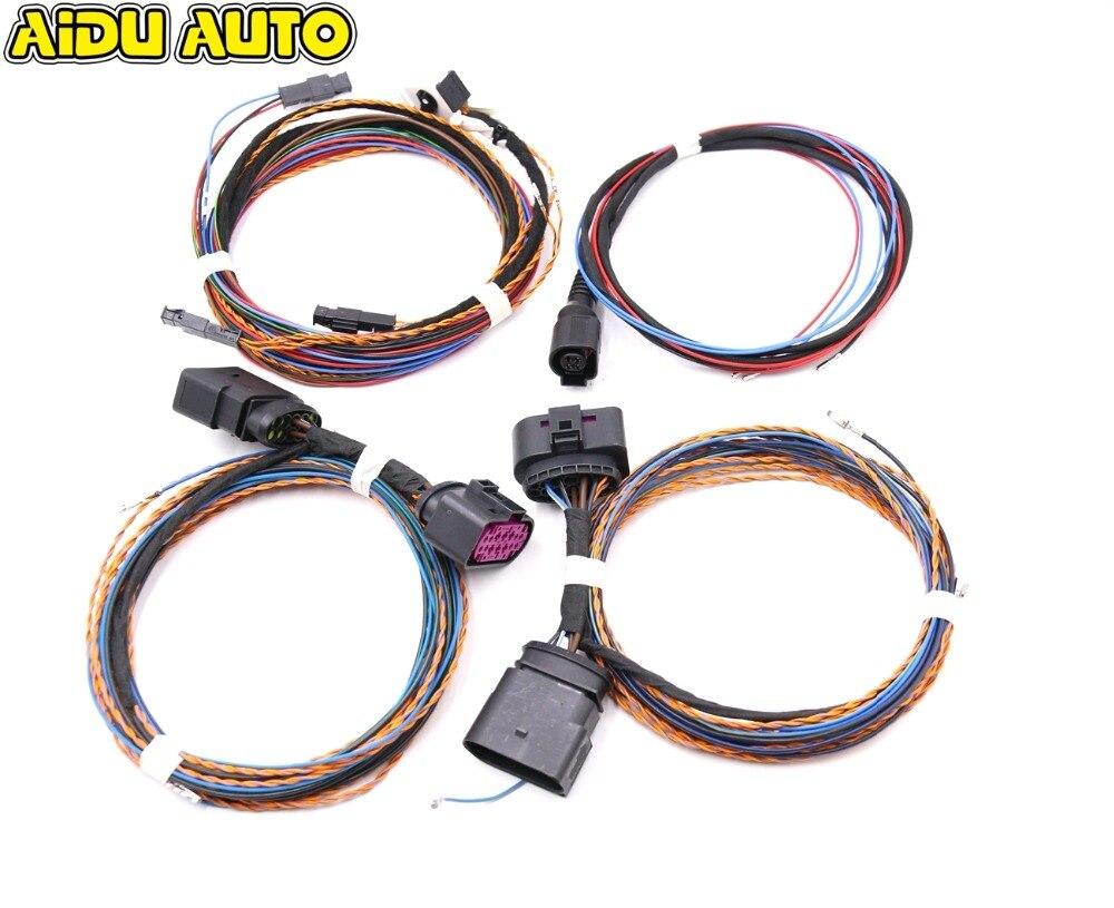 Для VW Golf VI 6 MK6 ксенон автоматическое выравнивание диапазон фар в поворотах AFS провода/кабеля/проводка ксеноновые лампа светодио дный свет