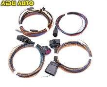 Faro de xenón para coche, luz LED para VW Golf VI 6 MK6, rango de nivelación automática, cable/arnés, lámpara de xenón