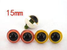 Fresh color combination pink and yellow per color 10pairs 15mm round font b toy b font
