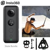 Insta360 ONE X 18MP Sport Action Camera Wifi Support 5.7K Photo Bike Back Skete Bundle Insta 360 Accessories Back Bar Pet Bundle