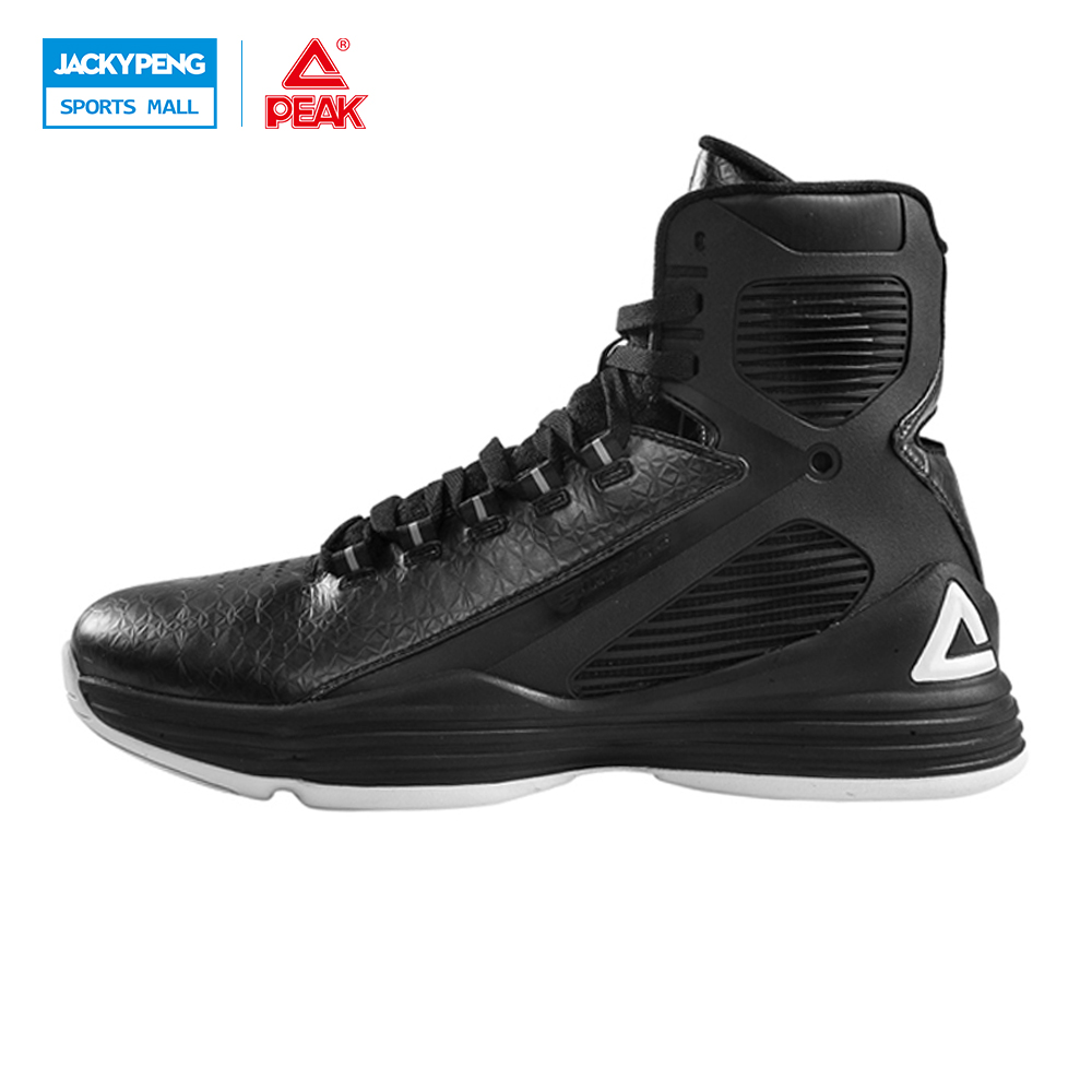 PEAK SPORT GALAXY IV Star Models Men Basketball Shoes High Top Athlete Sneakers Gradient Dual FOOTHOLD Tech Boots EUR 40-48 peak sport speed eagle v men basketball shoes cushion 3 revolve tech sneakers breathable damping wear athletic boots eur 40 50