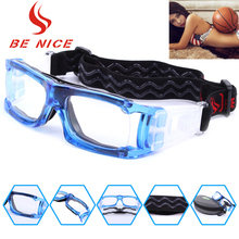 Be Nice brand basketball football protective glasses outdoor sports goggles Mirror Male/Men Sports Myopia Glasses