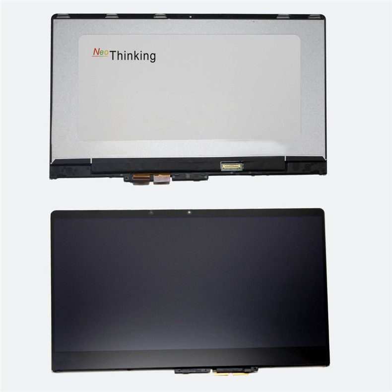все цены на NeoThinking Lcd Assembly For Lenovo 710-14 710 14 Yoga 710-14 Touch Screen Digitizer Glass Replacement With frame free shipping онлайн