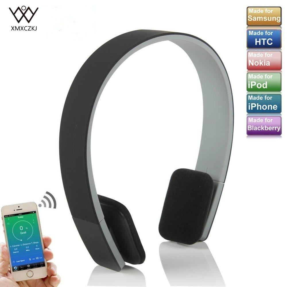 XMXCZKJ Inteligente fone de Ouvido Sem Fio fone de Ouvido Estéreo Bluetooth com Suporte a MIC Stereo 3.5 milímetros de Áudio Handsfree para o Telefone Móvel Tablet