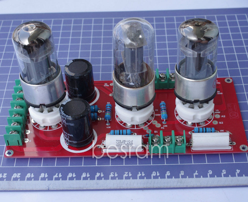 Assembled 6Z5P+6N8P Pure Tube Preamp excluding transformer /Pre-amplifier 30w 2017 nobsound direct manufacturer selling 6j4 6p6p 6z5p tube amplifier pre amplifier tubes diy kits