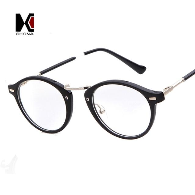 c87e8fab0c605 Novo Estilo de Homens e mulheres Da Moda Óculos de Armação Óptica lente  Clara Do Vintage