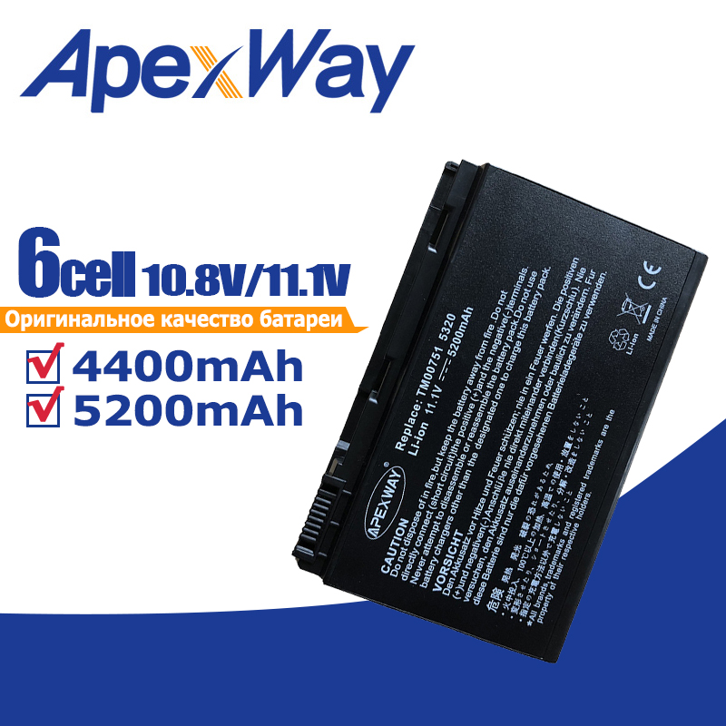 11.1v Battery for AcerExtensa 5210 5220 5235 5420G 5620G 5620Z 5630 <font><b>5630G</b></font> 5635 5635G 5635Z 7220 7620 7620G GRAPE32 GRAPE34 image