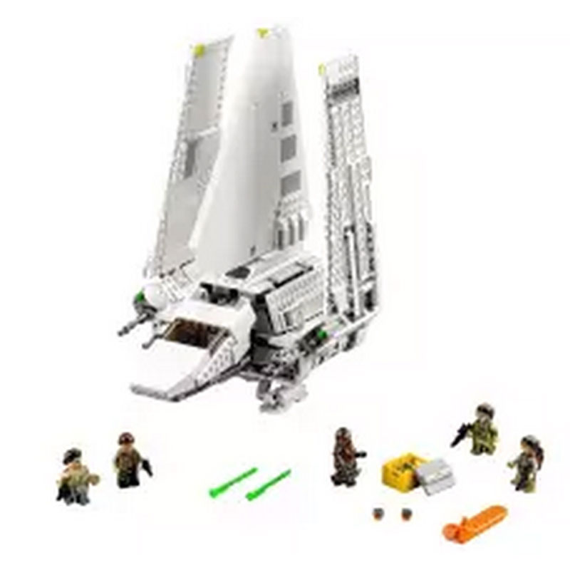 New Lepin 05057 937Pcs Star War Series The Imperial Shuttle Set Model Building Kit Blocks Bricks Toy Compatible With 75094 Gifts lepin 22001 pirate ship imperial warships model building block briks toys gift 1717pcs compatible legoed 10210