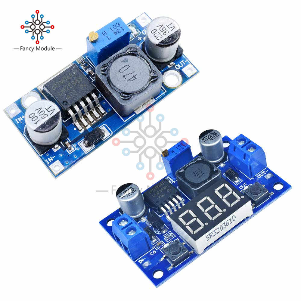 DC-DC Step Down Module LM2596S LM2596 3.2V-40V To 1.25V-35V Adjustable Power Supply Buck Converter Voltage Regulator Module