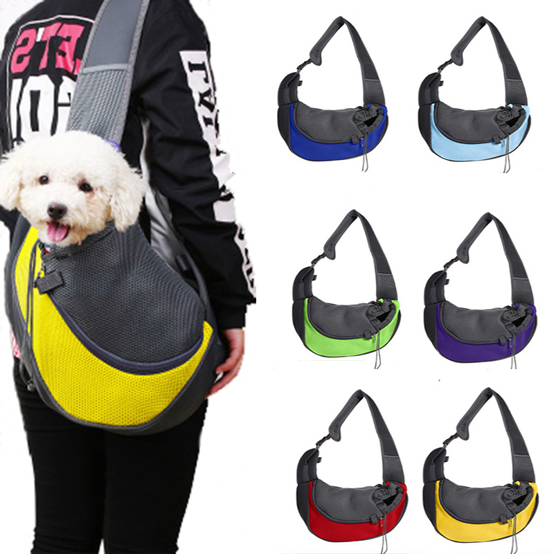 Hot Sale Pet Carrier Cat Puppy Small Animal Dog Carrier Sling Front