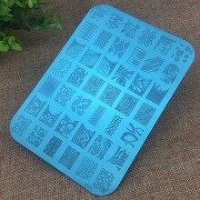 1Pcs 14 5x10 5cm Good Quality XY Series Nail Stamping Plates Nail Art Image Stamping Plates