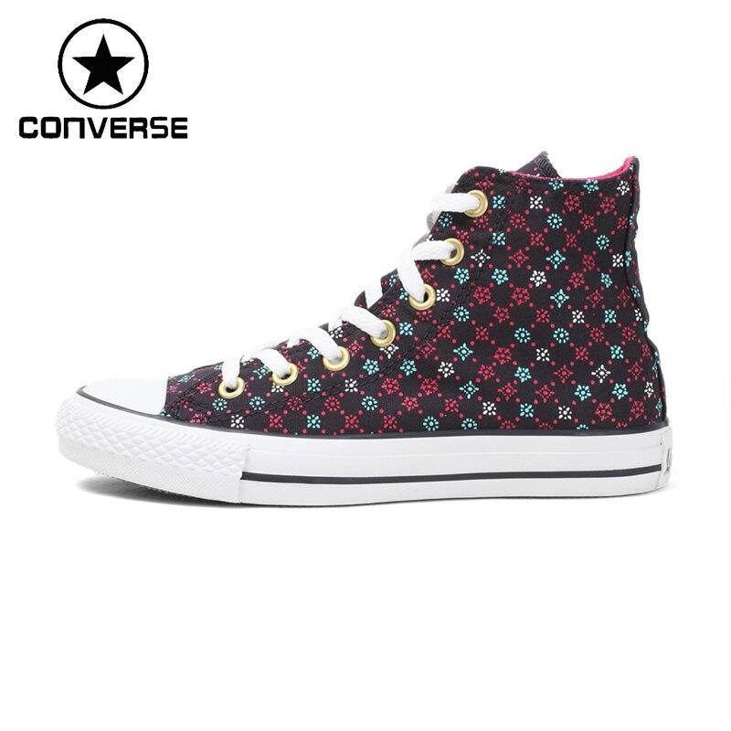 Prix pour D'origine Converse Femmes de Planche À Roulettes Chaussures Toile Sneakers