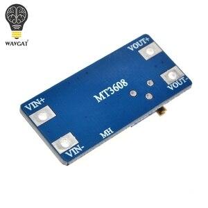 Image 4 - WAVGAT 5 pièces MT3608 DC DC convertisseur amplificateur Module dalimentation Booster carte de sortie MAX 28V 2A pour Arduino
