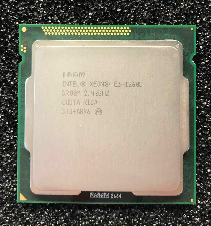 Xeon CPU E3-1265L 2.4GHz 45W LGA1155 E3 1265L CPU Processor for HP MicroServer Gen8 Better Than E3-1260L