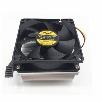 1pc Aluminium Heat Sink Cooling Fan 20W 50W 100W High Power Led Light 80*83*65mm