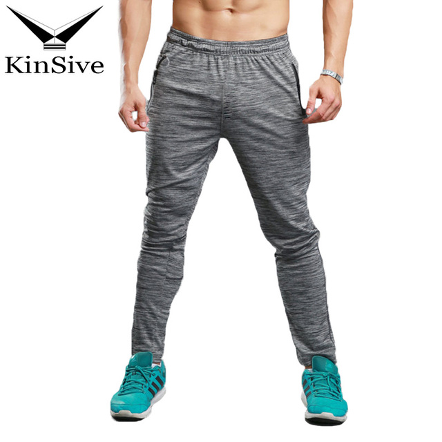 c2ff8b47ad1 Gyms Men Sweatpants Compress Gymming Men Fitness Joggers Workout Casual Trousers  Summer Sporting Men Breathable Long