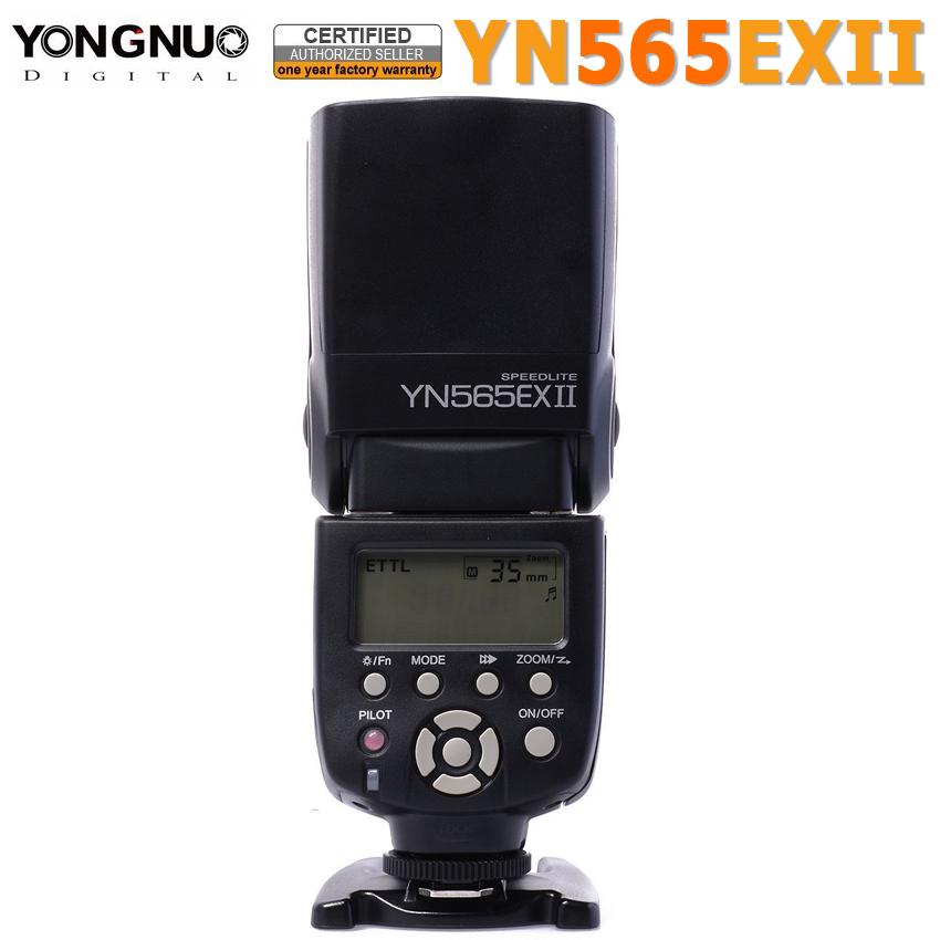 Prix pour Yongnuo YN565EX II Speedlite Flash Speedlight Lumière T5/T5i/T3/T3i/SL1 EF-S pour Canon EOS 5D 6D 5D3 5D2 7D 60D 600D 70D 700D 400D
