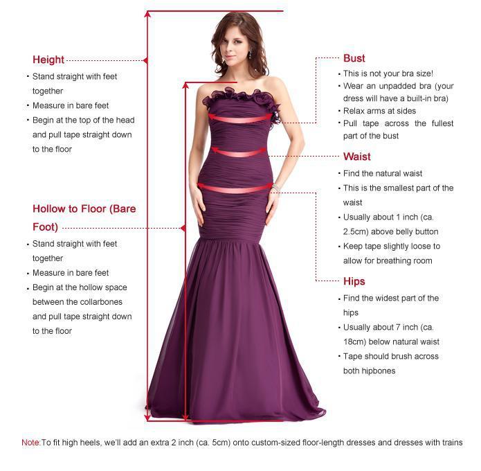 Vestido de Noite Tamanho Personalizado