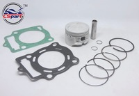 LONCIN ZONGSHEN CB250 250 250cc water cooled engine piston Gasket sets 70mm 16mm bore dirt bike atv quad