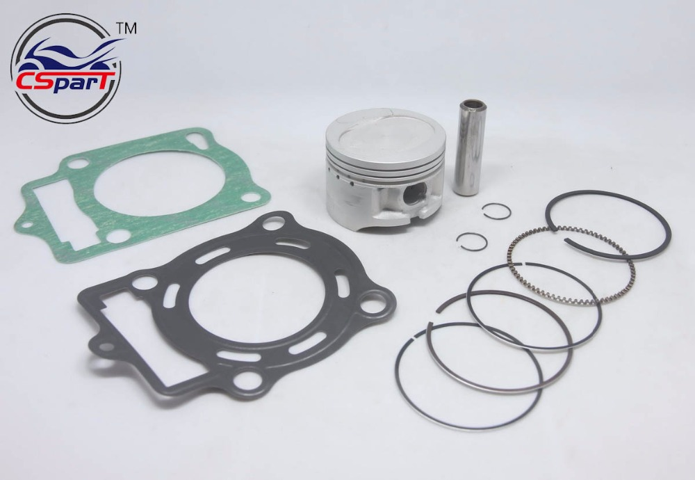 LONCIN ZONGSHEN CB250 250 250cc water cooled engine piston Gasket sets 70mm 16mm bore dirt bike atv quad 2 sets water cooled