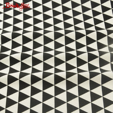 Booksew Fabric Black And White Triangle Style Tissue High Quality 100% Cotton Material Crafts Bedding Quilting Sewing Textile(China)