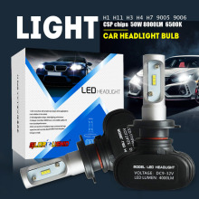 2pcs H7 Led H4 H11 H1 H3 9005 9006 Car LED Headlight Auto fog Lamp 50W