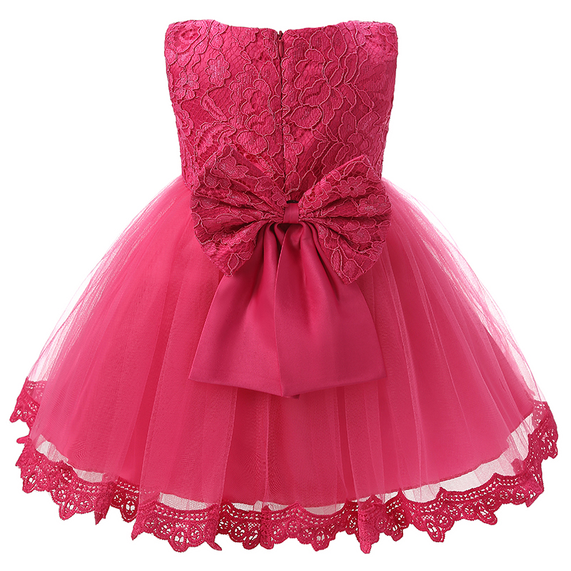 Vintage lace baby girl dress for wedding party 1 year for Wedding party dresses for girl