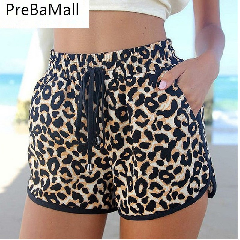 Fashion Summer Women Leopard Shorts Print Trousers Loose Charming Sexy Ladies Casual Shorts Elegant Feminino Short C112 Price $17.16