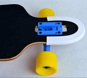 Image 5 - 좋은 품질과 기능을 갖춘 longboard 및 double rocker 용 1 쌍 스케이트 보드 보호 레일