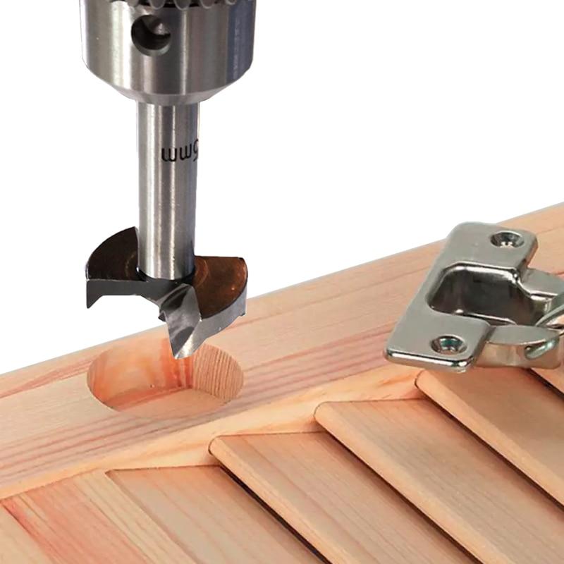 TASP 5 buc Bucsa de foraj pentru lemn Forstner pentru prelucrarea - Burghiu - Fotografie 3