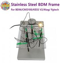 Stainless Steel BDM Frame for BDM Programmer CMD100 KESS V2 Ktag Fgtech High Quality