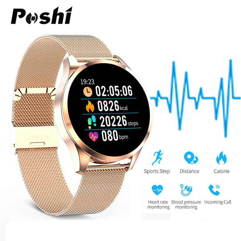 Q9 สมาร์ทนาฬิกาผู้ชายผู้หญิงกันน้ำ Message call reminder Smartwatch Heart Rate Monitor Fitness Tracker สำหรับ IOS Android