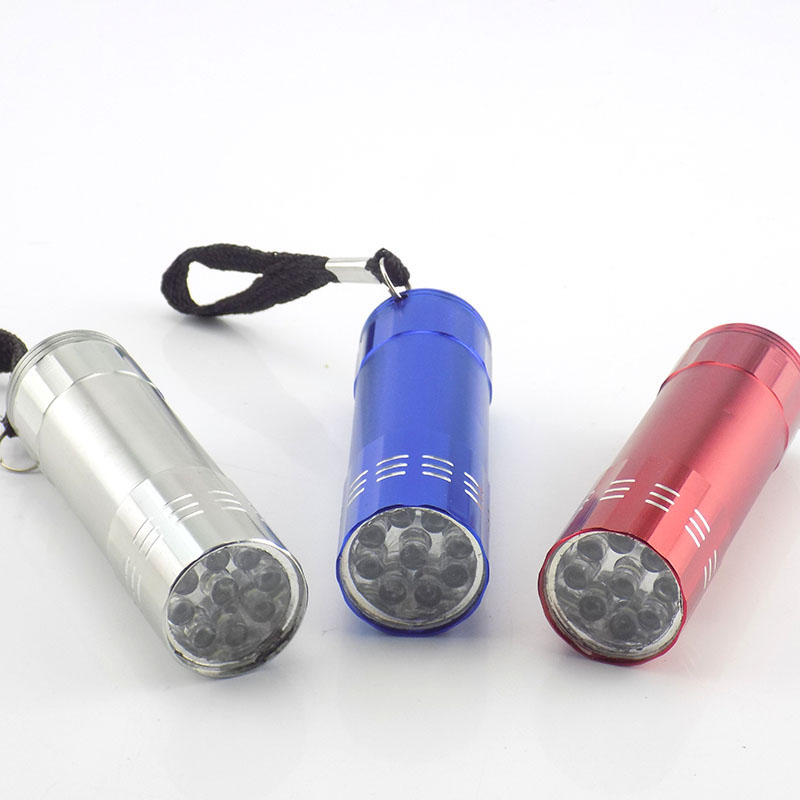 9 led Mini Flashlight flash torch lamp AAA battery small pocket penlight protable keychain light Lamp high power for camping sf02 new red penlight mini led flashlight aaa cree xpg2 portable torch light pocket light flash light led waterproof lanterna